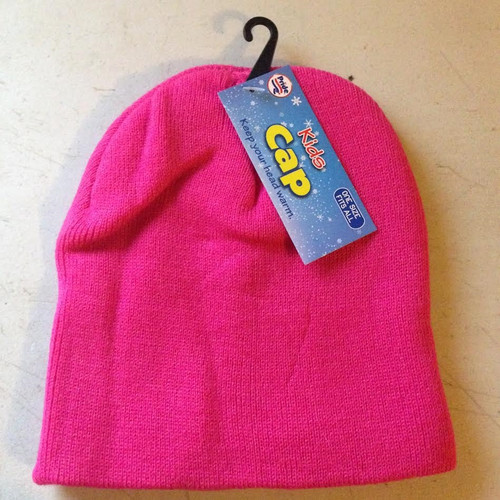 ✅ Kids Cap One Size Fits All : Pink