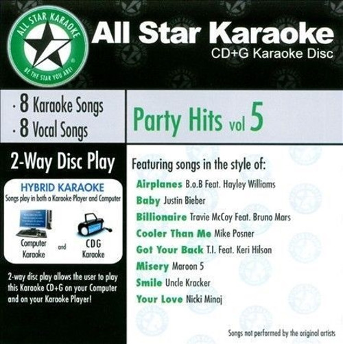 All Star Karaoke - Party Hits Vol 5