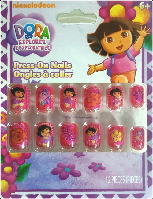 ✅ Dora The Explorer Press On Nails