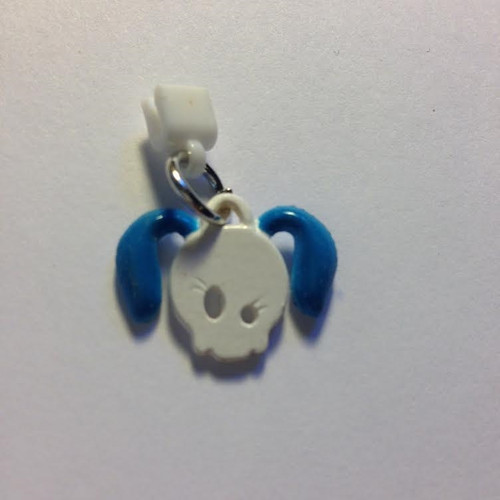 Pop Girl Ear Bud Charm: Dog Face