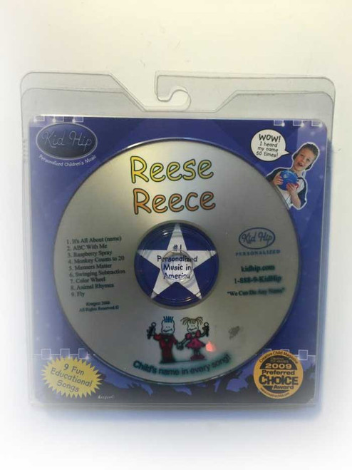 ✅KID HIP Personalized Name (Reese /Reece) CD- Hear Your Child's Name 50x