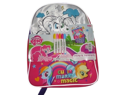 ✅ My Little Pony: Cutie Mark Magic Backpack - USA SELLER - FREE SHIPPING!