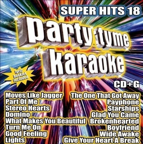 Party Tyme Karaoke - Super Hits 18 [16-song CD+G]