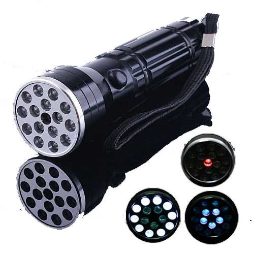 ✅ MONSTER PRO LASER BEAST® - Laser STAYS ON - 15-Led Flashlight & Laser Pointer