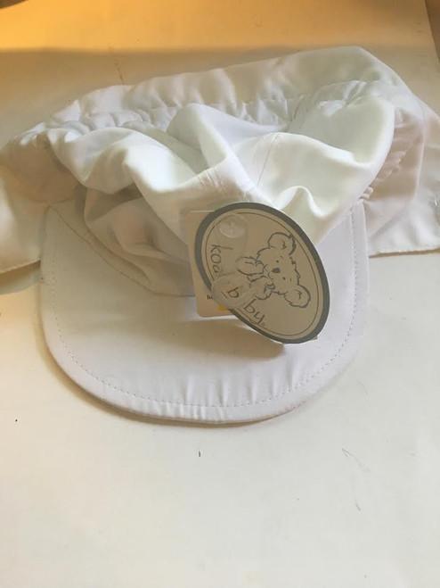 White Swimming Hat - Koala Baby - Brand New