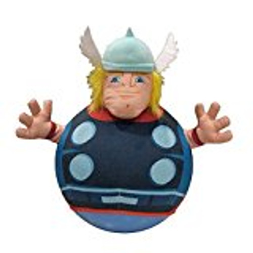 Marvel Super Hero Squad Inflatable Hop and Bounce Playpal (THOR)