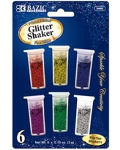 2x 6 Pack of Glitter Shaker (You Get 2 Of These)