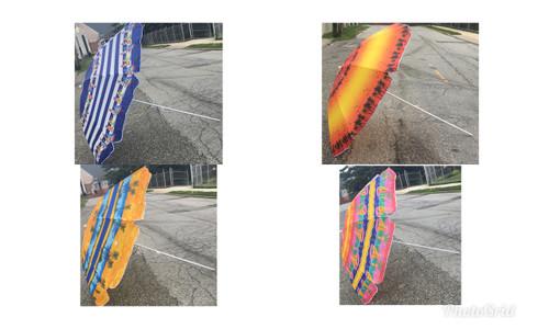 """Choose Design (84"""") Beach Umbrellas"""