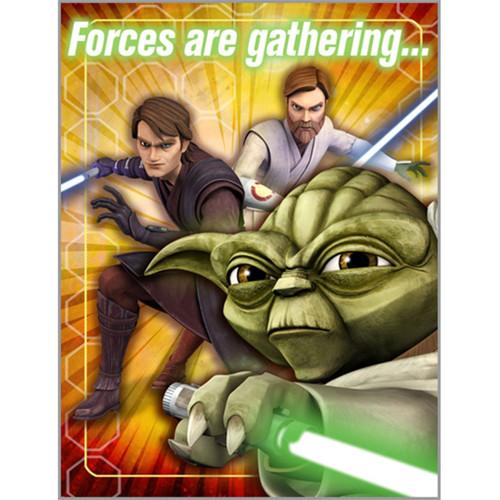 8 Star Wars Invitations