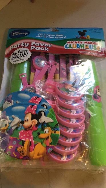 Mickey Mouse Club House Party Favor Pack