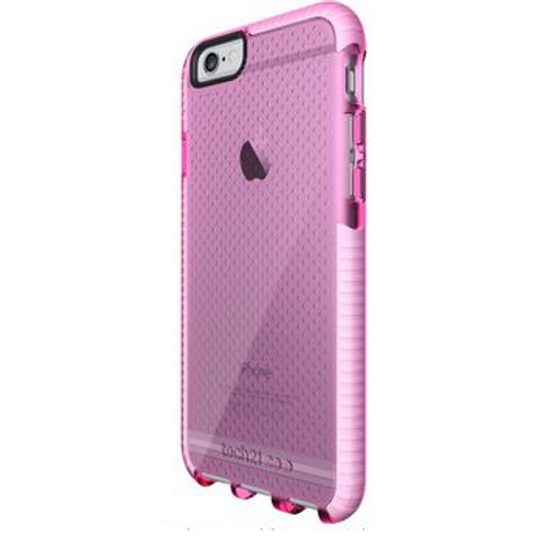 Tech21 Evo Band Case for iPhone 6+/6s+ Pink/White