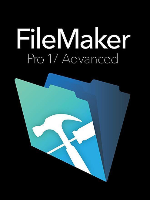 FileMaker Pro 17 Advanced Database Software MAC - Disc AND Download