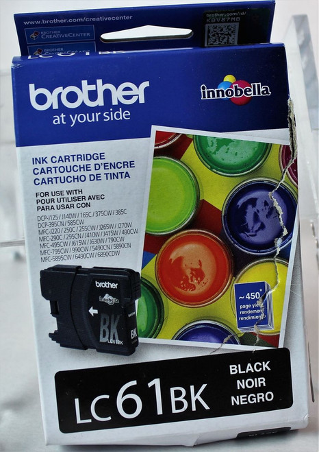 Brother, LC-61 -BLACK-XL INK CARTRIDGE- OEM