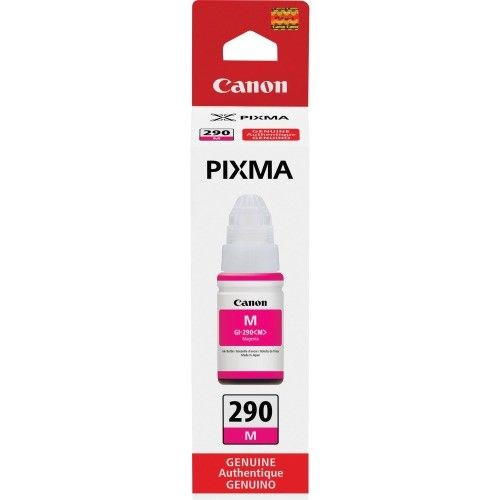 Genuine Canon PIXMA GI-290 Ink Bottle- Magenta - Sealed Retail Box - Free Ship!