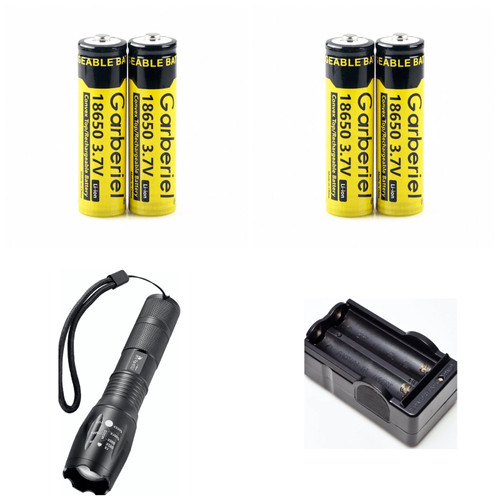 PICK OWN COMBO - 3.7v 18650 5000mAh GERBERIEL RECHARGEABLE Button-Top Batteries
