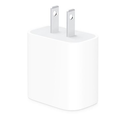 18W USB-C Power Adapter for All iPhone 11-12 models