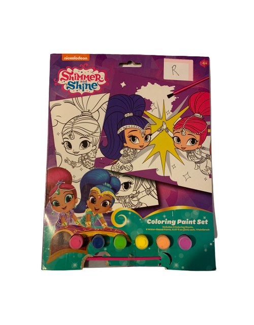 nickelodeon Shimmer and Shine Coloring Paint Set