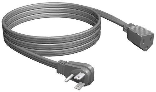 Gray  A/C Appliance Extension Cord 9ft - Air Conditioner
