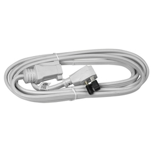 White  A/C Appliance Extension Cord 15ft - Air Conditioner