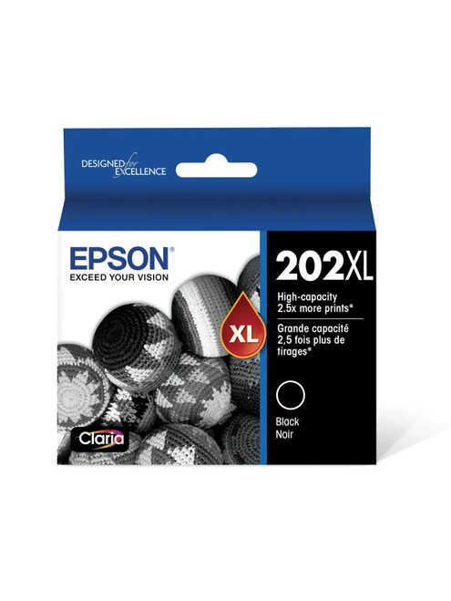 Genuine Epson 202XL Black Ink Cartridge T202XL120 - IN FACTORY SEALED BOX!!!