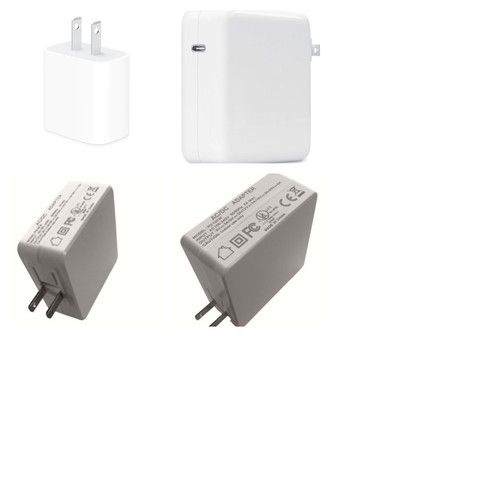 18/30/65/100W USB-C Power Adapter for All iPhone 11-12 models
