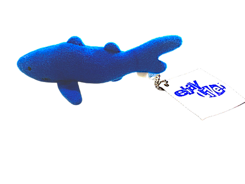 Cute Shark Keychain - Ebay Live Boston 2007 ebayana