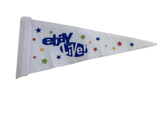 Set of 4 Ebay Live Boston Pennants on Sticks (not shown) ebayana