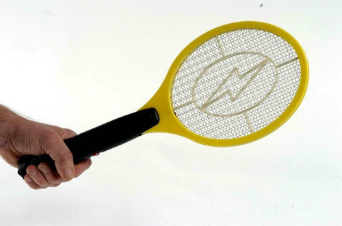 ✅ HIGH VOLTAGE Handheld Electric Fly Swatter Mosquito Racket Bug Zapper Killer