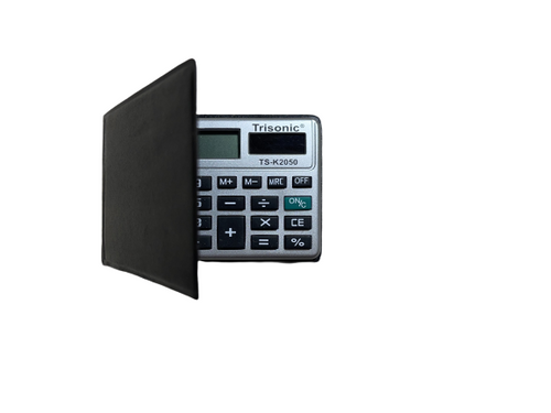 14x Credit Card Size Calculators - with FREE carrying cases - less than $1 each!