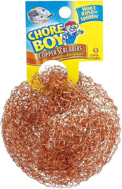 ✅ Chore Boy Copper Scrubbers - Perfect for Pots and Pans - USA SELLER - FREE S/H