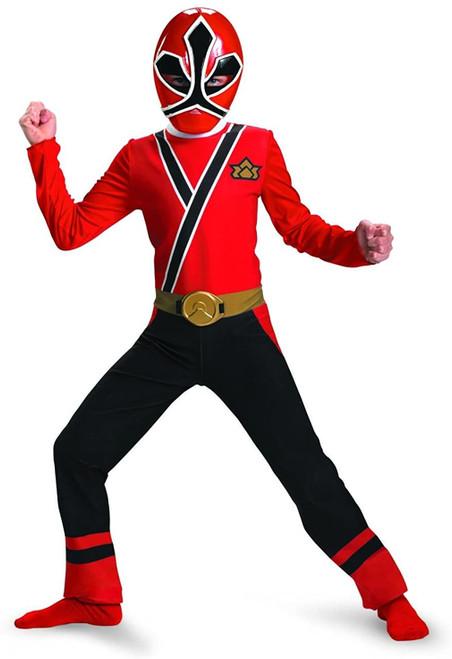 NEW Saban's Power Ranger Super Red Ranger Samurai Toddler Costume Size 2T (S/P)