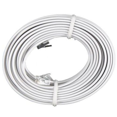 50 FT Feet RJ11C Modular Telephone Extension Phone Cord Cable Line (Choose Color)