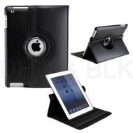 Delton Swivel Folio Case for iPad2 BLACK