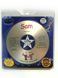 KID HIP Personalized Name (Sam) CD- Hear Your Childs Name 50x In The Music