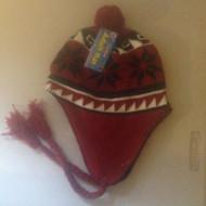 Ladies/Men Unisex Adult Hat RED PERU DESIGN