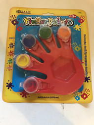 5 Colors 5ml Finger Paint w/Hand Shaped Mixing Tray
