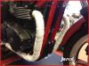 "White Fiberglass Exhaust Heat Wrap - 16ft  Roll 2"" wide"
