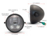 The Best LED motorcycle Headlight