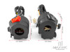 Switch Gear   Black ABS Motorcycle Control Switch Set L\R     22mm Bars