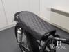 Black Diamond Stitch Universal Scrambler Motorcycle Seat