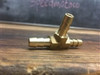 "Brass T fitting 1/4"" .25 fuel line splitter t fitting"
