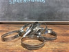 25mm to 45mm Thin Hose clamp  9.2mm wide  PREMIER QUALITY CLAMPS
