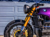 Motorcycle  Headlight Bracket   33mm to 59mm   Beemer Hinged Shorty