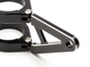 swivel headlight bracket hinged short