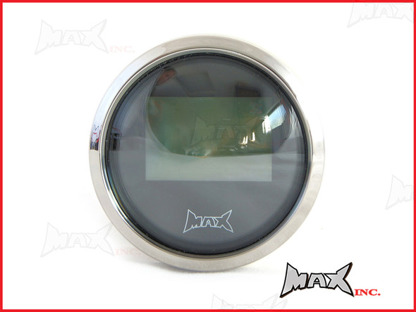 Motorcycle 52mm GPS Digital Speedometer MPH / KPH - 100% Waterproof