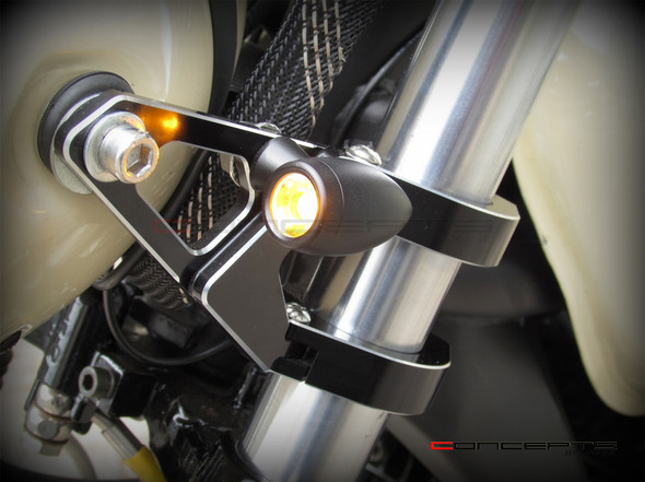 cafe racer turn signal motorcycle