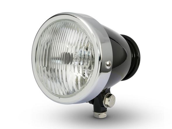"""4.5"""" Motorcycle Headlight     Bottom Mount Vintage Style   The Best Headlight"""