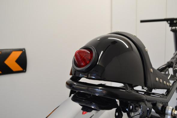 "Flush mount 2"" beehive style motorcycle taillight"