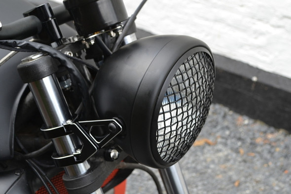 Auto Motorcycle  Car headlight mesh grill guard