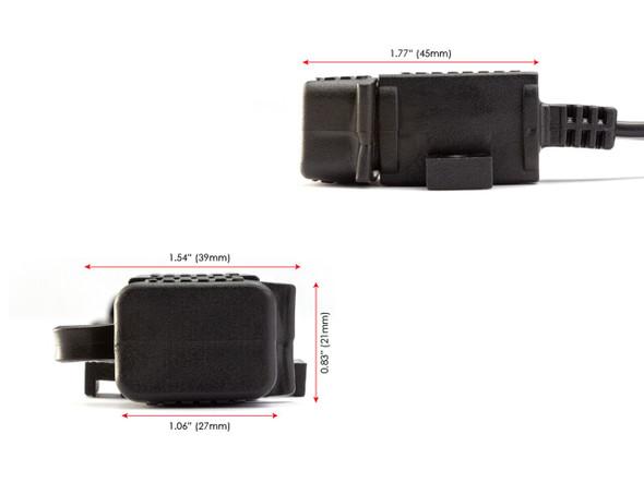 12v USB To Battery Power | Motorcycle USB Supply | Phone Universal Supply